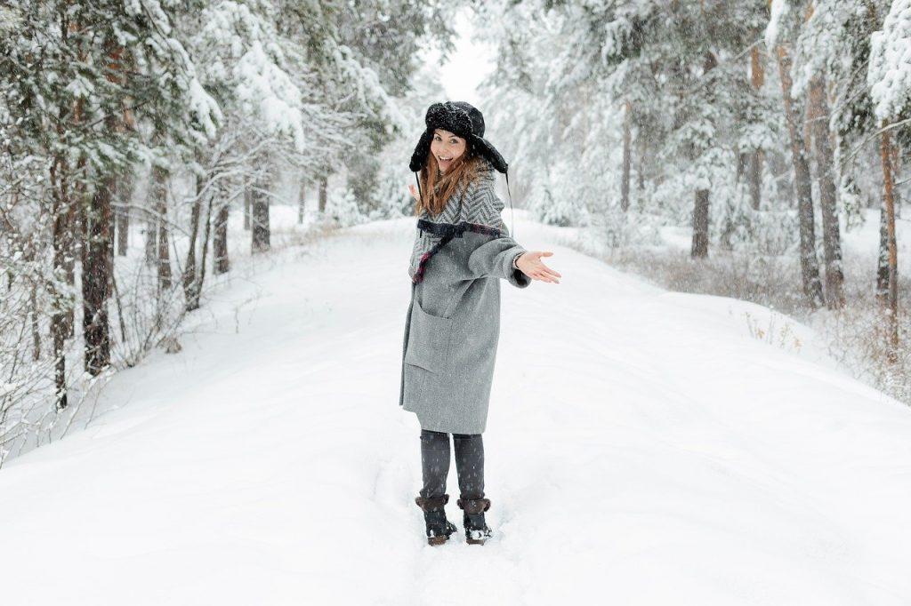 Skóra twarzy w zimie