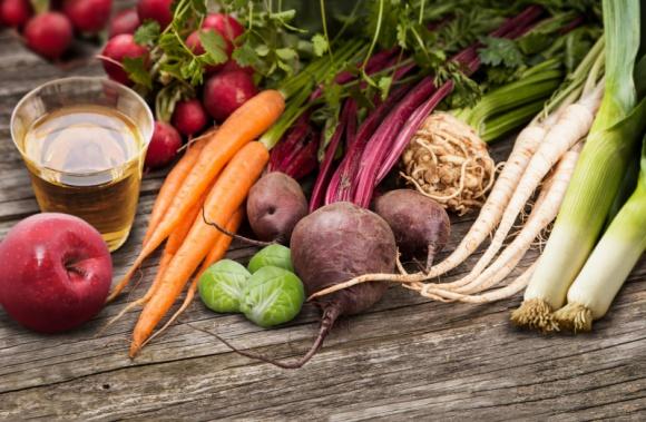Warzywa i owoce jesienią i zimą
